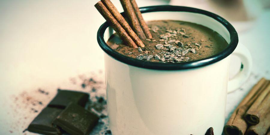 Recette de chocolat chaud au cannabis