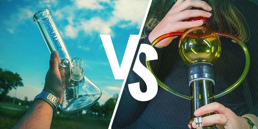 Différents Types De Bangs : En Verre Ou En Acrylique
