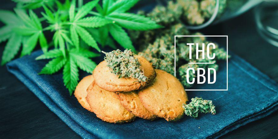 Quelle Est La Différence Entre Les Aliments Cannabis Au CBD Et Au THC ?