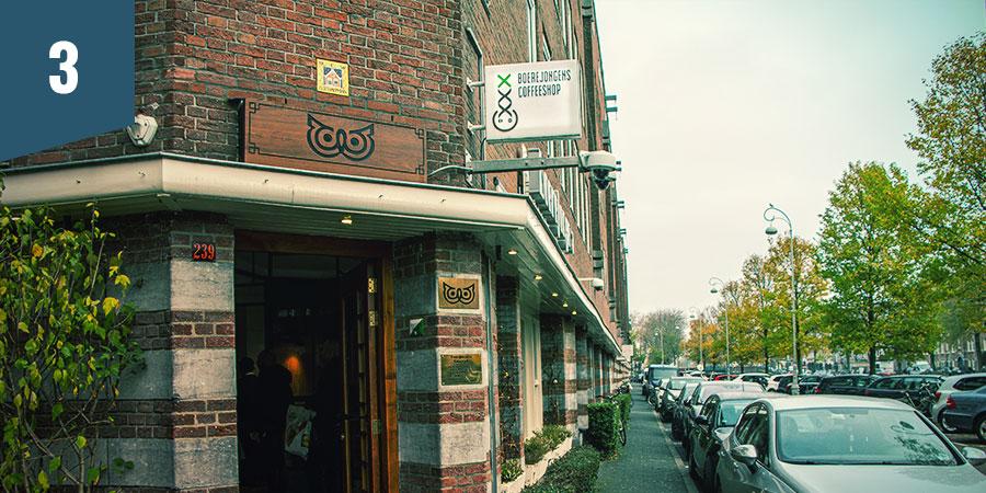 Boerejongens Coffeeshop Amsterdam - Meilleurs Produits CBD