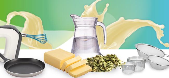 Ingrédients Beurre De Cannabis