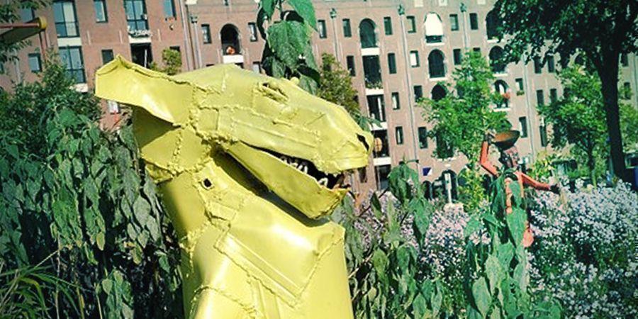Endroits Où Fumer À Amsterdam : Parc De Sculptures Zootje