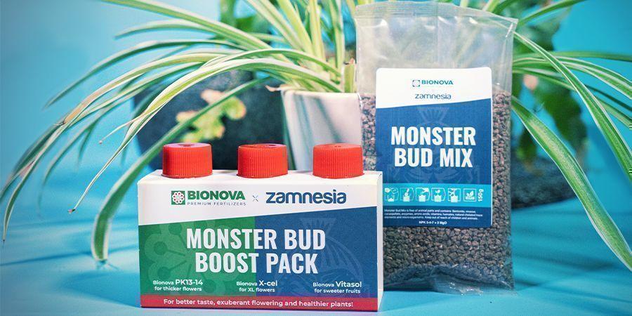 Monster Bud Mix Et Monster Bud Boost Pack