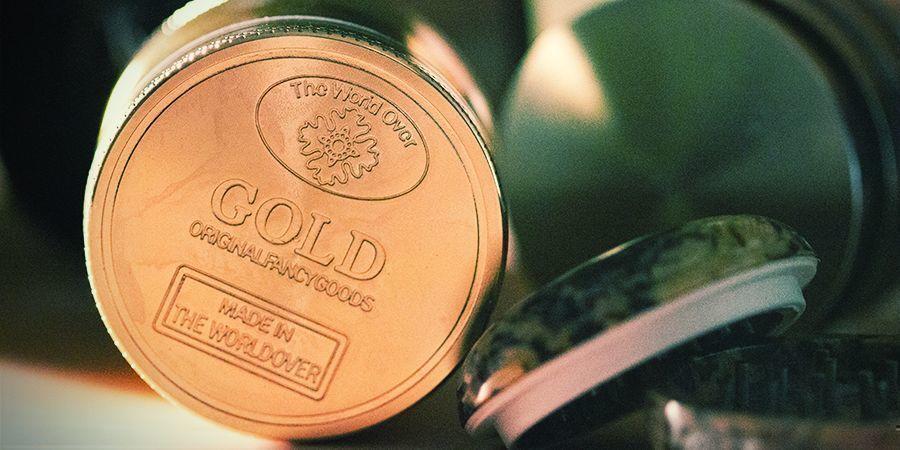 Grinder En Métal 24K Gold