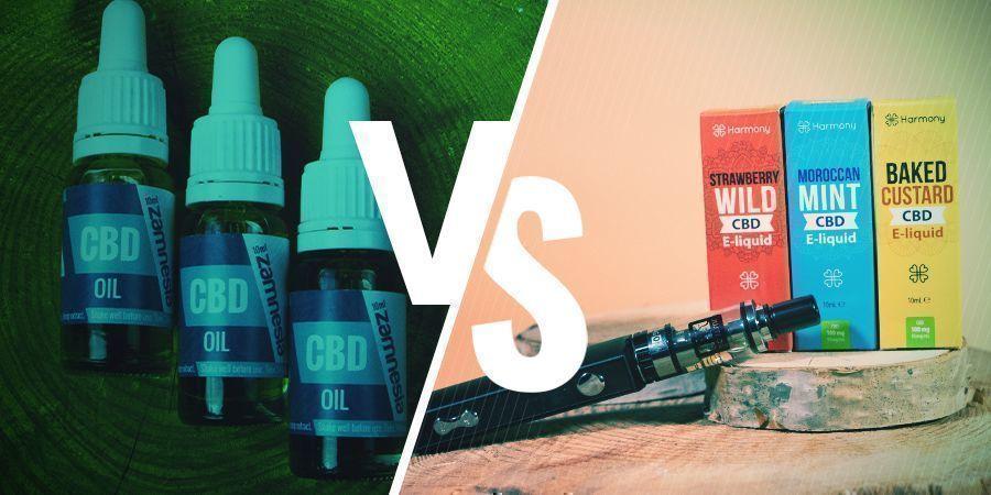 L'huile De CBD Est-elle La Même Chose Que L'e-liquide CBD ?