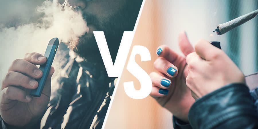 High en Fumant vs High En Vaporisant