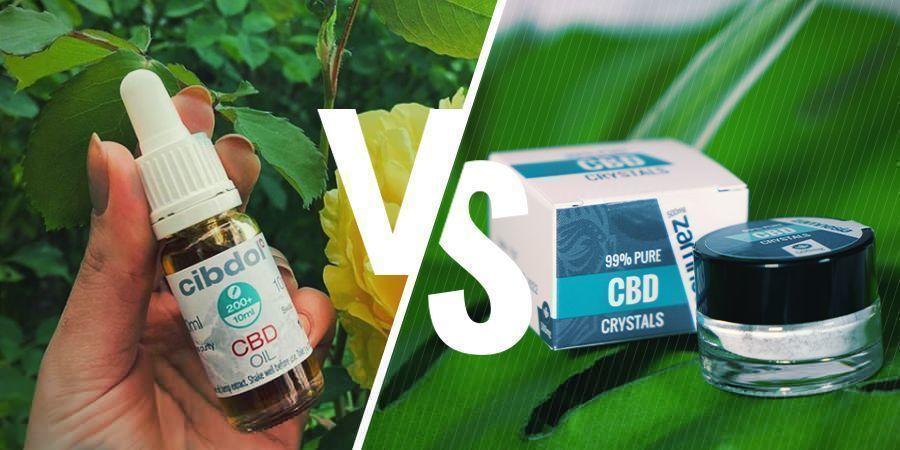 CBD À Spectre Complet vs Isolat De CBD