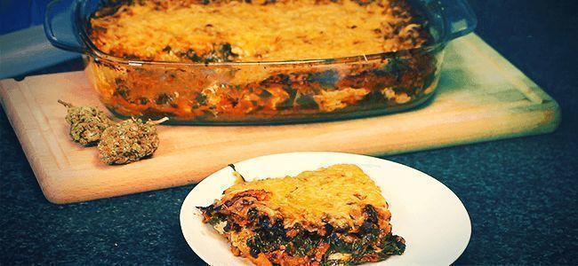Plat Principal : Lasagnes À La Ganja