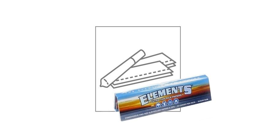 Elements FEUILLES À ROULER