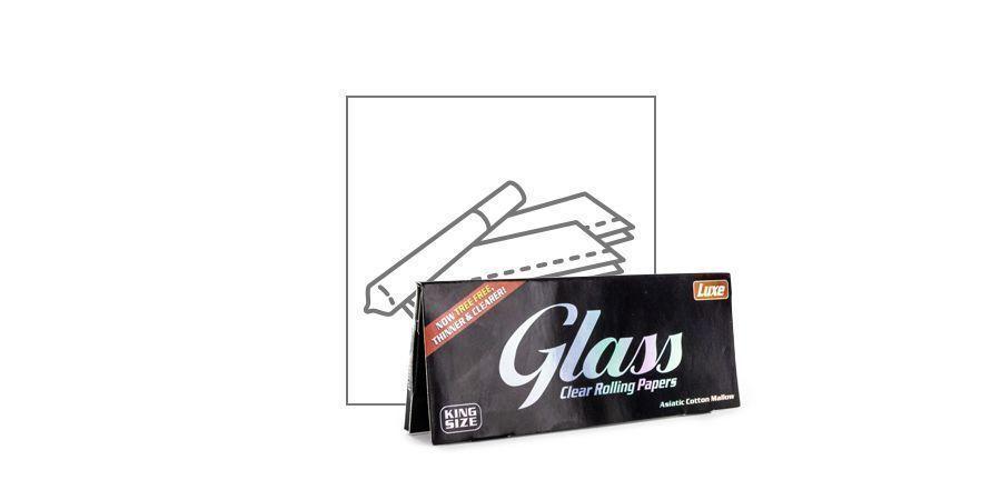 Feuilles À Rouler Transparentes Glass Grand Modèle