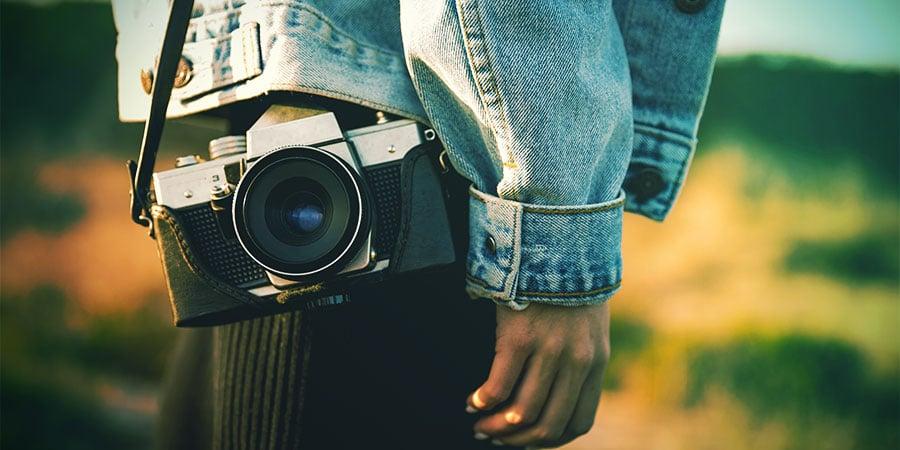 Prendre Des Photos Du Champignon
