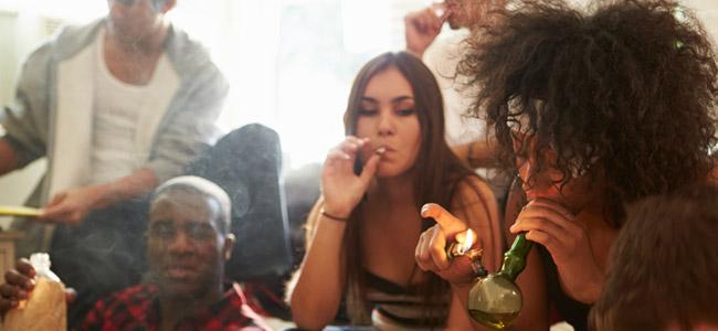 Fumer les amis