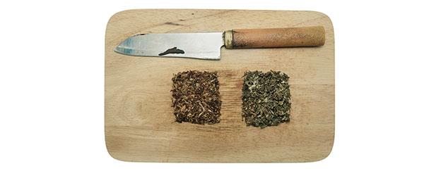 Couteau et Planche à Découper