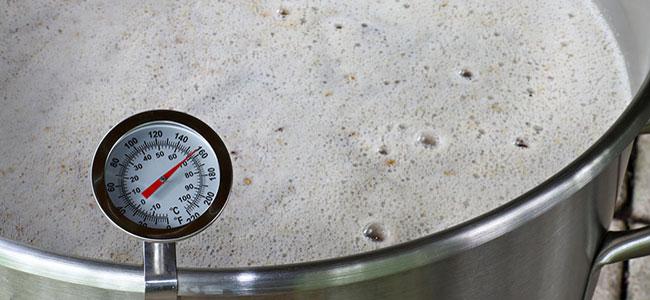 Thermomètre bière mash température
