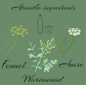 Absinthe ingredients