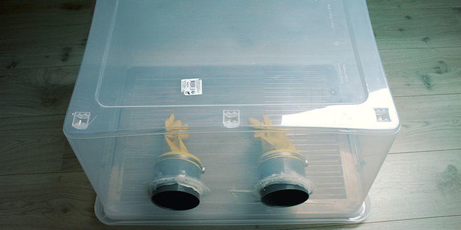 Boîte À Air Stagnant pour culture de champignons