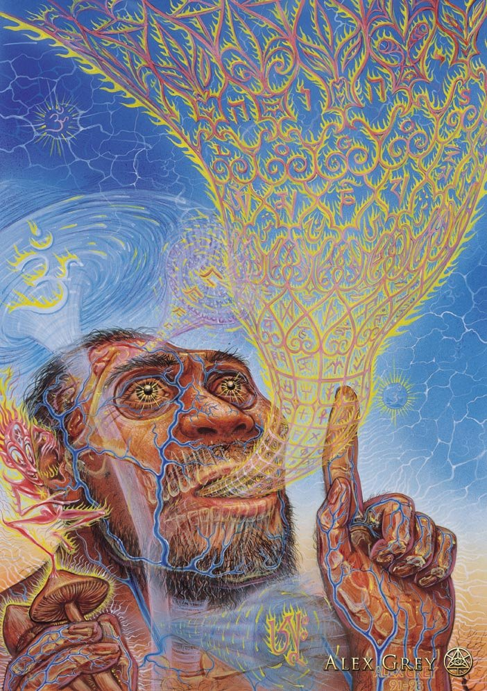 Alex Grey - The Visionary Origin of Language