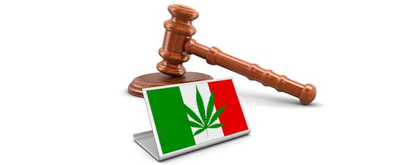 Lois sur le cannabis en Italie