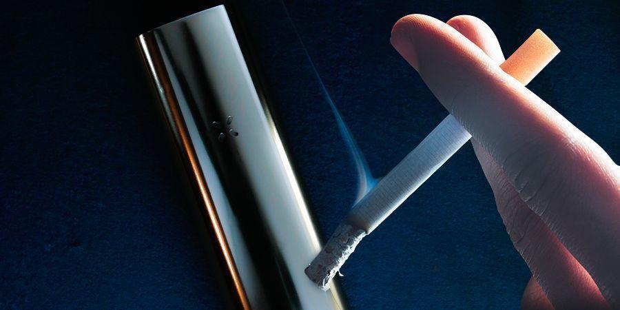 Quelle est la différence entre vaporiser et fumer ?