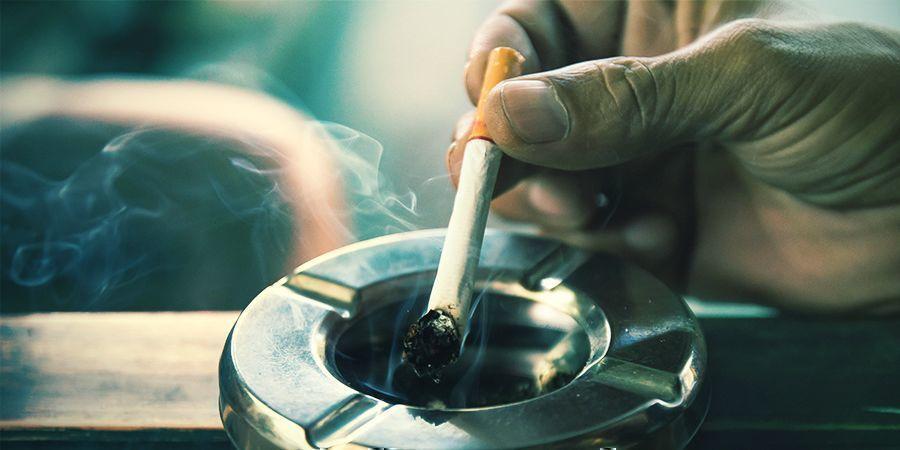 Plus de fumée ni de cendriers puants
