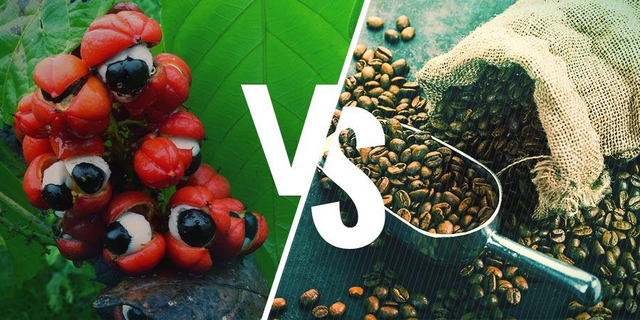 GUARANA VS. CAFÉ