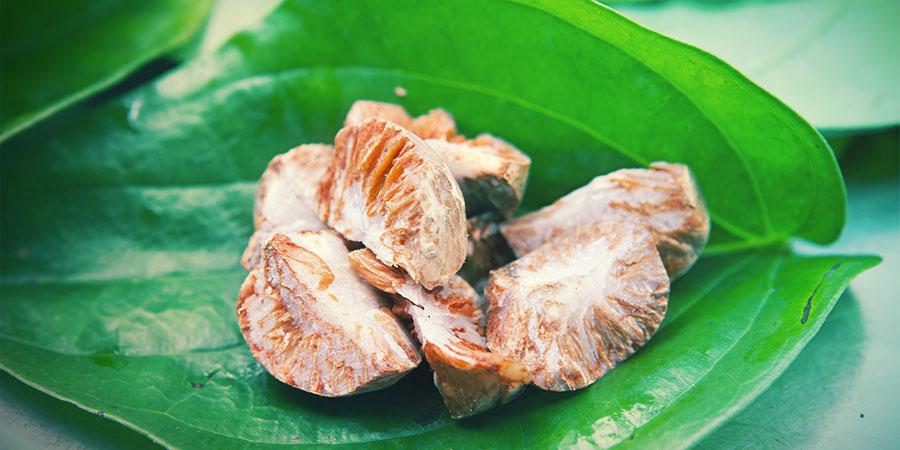 Consommer la noix de bétel