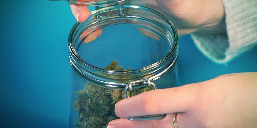 stocker du cannabis