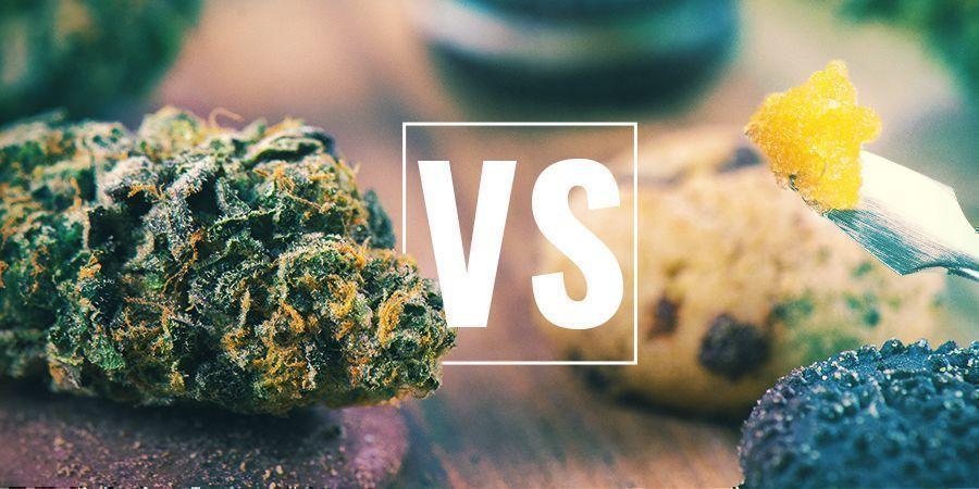 Fleurs De Cannabis Vs Comestibles Vs Concentrés