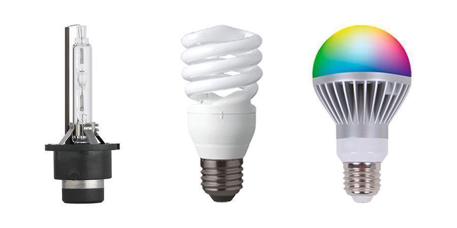 TYPES DE LAMPES