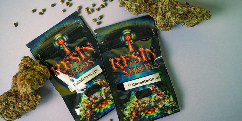 Emballage de Resin Seeds