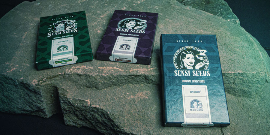 Emballages de Sensi Seeds