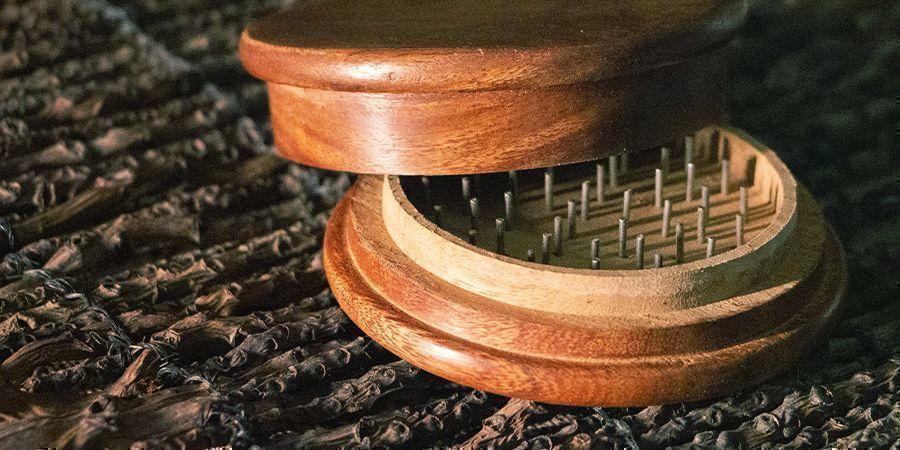 grinders en bois