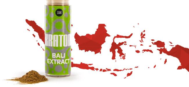 Extrait De Kratom Bali 15x