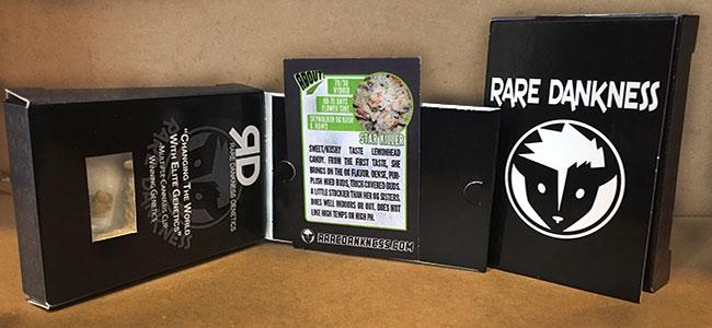 Intérieur de packaging Rare Dankness