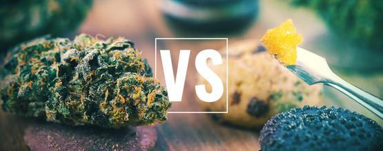 Fleurs De Cannabis Vs Comestibles Vs Concentrés : Quel Est Le Mieux ?