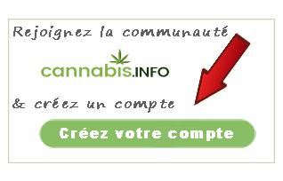Rejoignez la communauté Cannabis.info & créez un compte