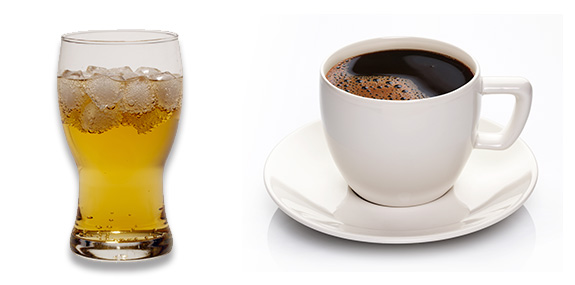 Guarana vs. Coffee