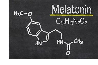 Mélatonine Structure chimique
