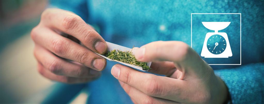 Voici La Quantité De Weed Dans Un Joint Moyen