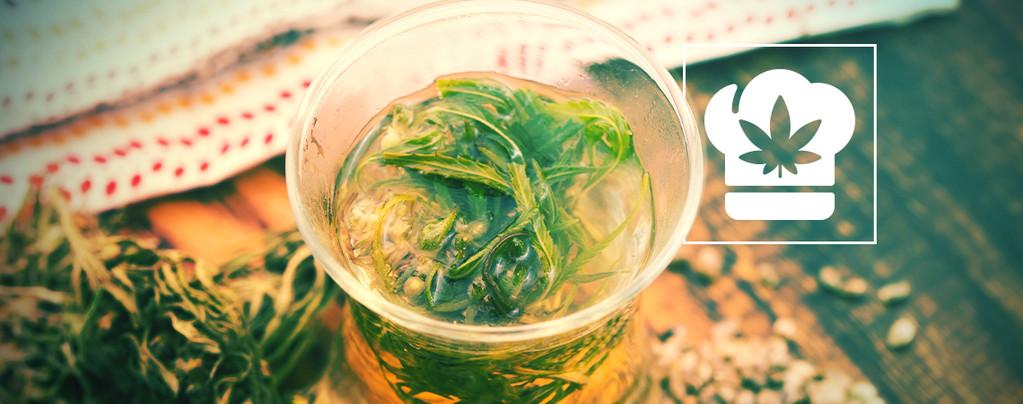 Thé au Cannabis