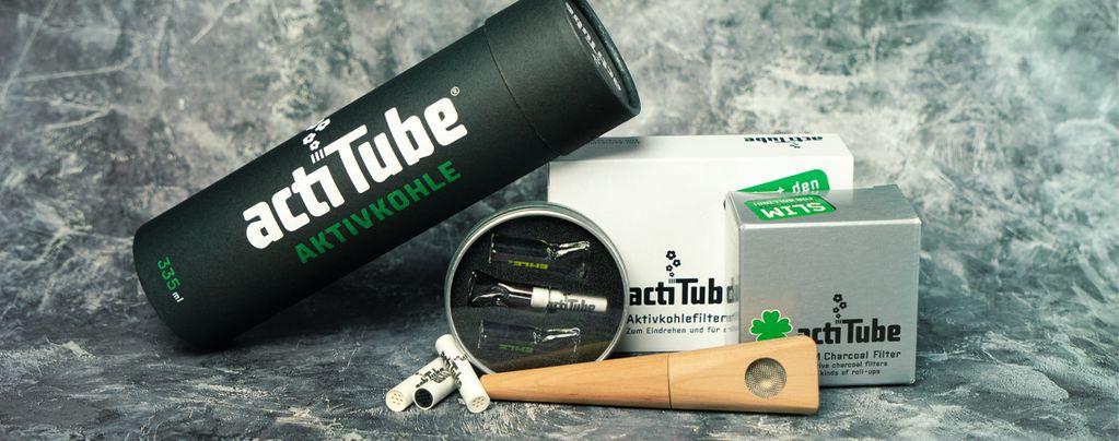 ActiTube : Charbon Actif Pour Une Fumée Super-Propre