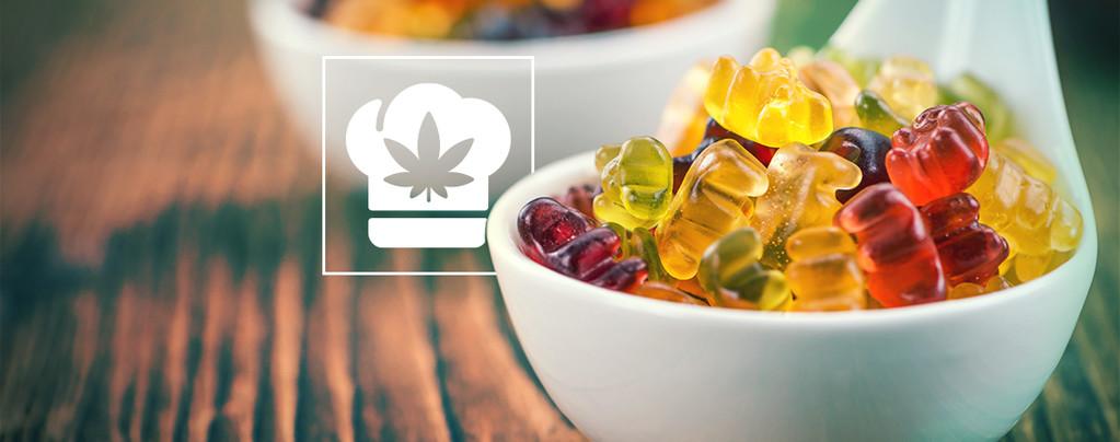 Oursons En Gélatine Au Cannabis