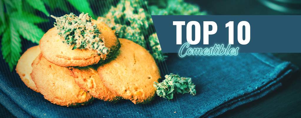 Top 10 Meilleurs Comestibles Au Cannabis D'Amsterdam