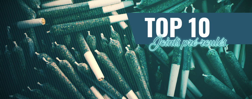 Top 10 Des Joints Pré-Roulés D'Amsterdam