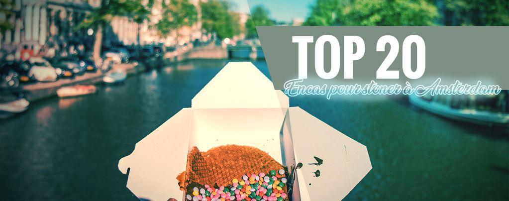 Snacks Pour Stoner À Amsterdam