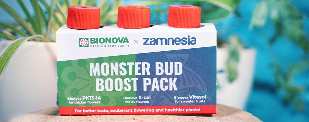 Utilisez Le Pack Monster Bud Boost Pour Obtenir Des Têtes Gargantuesques