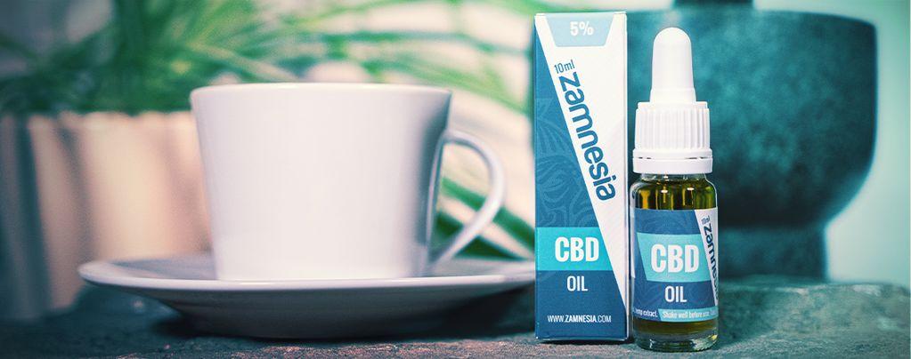 Comment Associer L'huile Au CBD Et Le Café