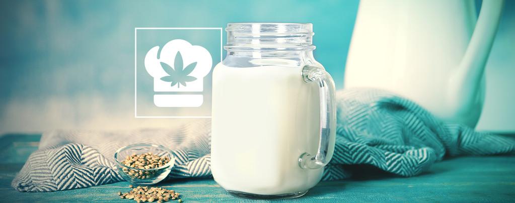 Comment faire du lait au cannabis