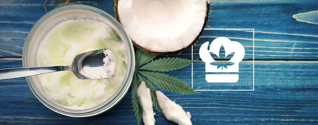 Comment faire de l'huile de coco au cannabis