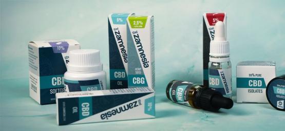 Top 5 Des Nouveaux Produits CBD De Zamnesia De 2019